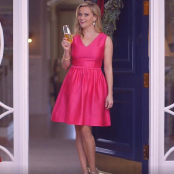 Draper James Dresses & Skirts - Draper James | Gracie pink silk dress NEW